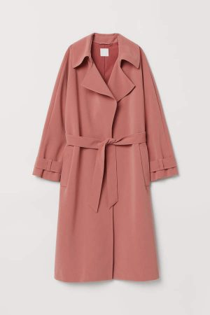 H&M Pink Trench