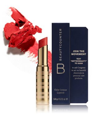 Beauty Counter Red Lipstick
